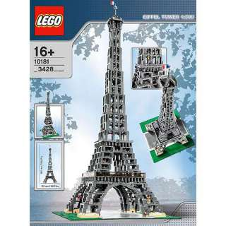 LEGO Bricks & More   The Eiffel Tower Building Blocks & Sets