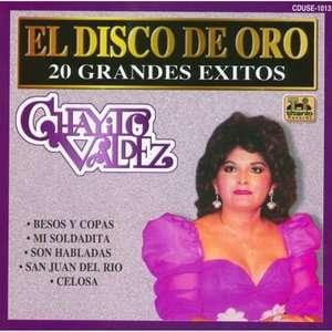 El Disco De Oro 20 Grandes Exitos, Chayito Valdez Latin