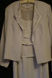 the Bride Special Occasion Dress Montage 17943 Ice Gray Size 16