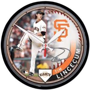 San Francisco Giants Tim Lincecum Wall Clock Sports