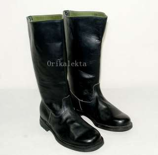 WWII GERMAN EM LEATHER COMBAT BOOTS IN SIZES 5471