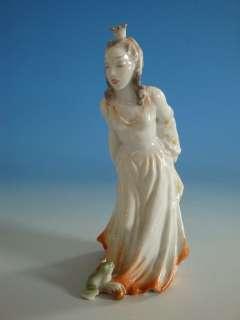 Rosenthal Princess and the Frog Prince Porcelain Figurine