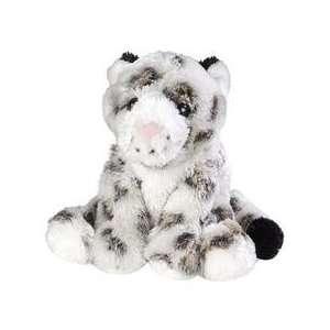 Plush Snow Leopard Fuzzy Fella 11 [Toy] Toys & Games