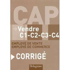 Vendre CAP C1 C2 C3 C4 employe de vente et de commerce