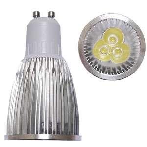 Energy Saving GU10 9W 3X3W High Power LED SPOT Lamp Lights 85V 265V