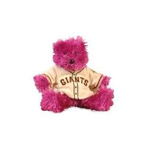San Francisco Giants Special Team Logo Bear in Purple