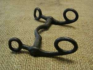 Vintage Military Iron Horse Harness Bit > Antique Old