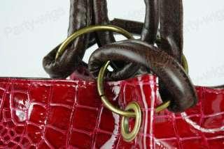 Fashion Ladies Women Clutch Handbag Bag Totes Purse Hobo PU Leather