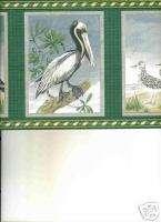 NAUTICAL,SEAGULLS,BEACH BIRDS ROLLS WALLPAPER BORDER