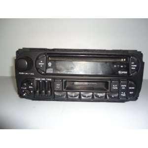 Dodge Durango Dakota Caravan Neon Radio Cd Cassette