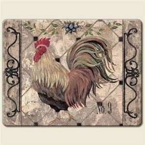 Chicken Tempered Glass Cutting Board 8 By 10