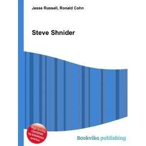 Steve Shnider Ronald Cohn Jesse Russell Books