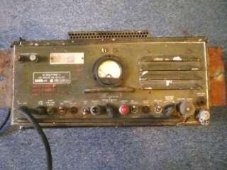 US ARMY R 19C TRC 1 RADIO RECEIVER. WWII