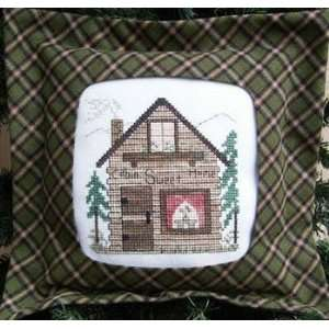 Cabin Sweet Home   Cross Stitch Pattern: Arts, Crafts