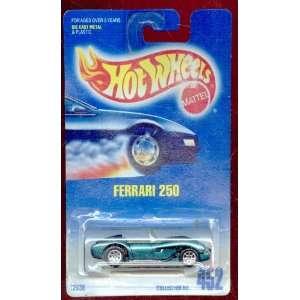 Wheels 1991 452 Blue Card Green Ferrari 250 164 Scale Toys & Games