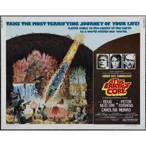 At the Earths Core Poster Movie Half Sheet 22 x 28 Inches