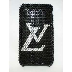 clear Logo Bling Case for iPhone 3GS Cell Phones & Accessories