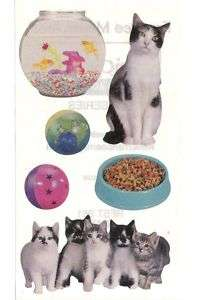 Frances Meyer Family Pets Kitty Cats Kittens Stickers