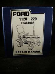 FORD New Holland 1120 and 1220 Tractor Service Manual |