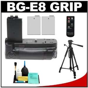 Rokinon BG E8 Battery Power Grip with Remote Shutter Release for Canon