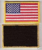 Military Law Enforcement United States US Shoulder Velcro Flag