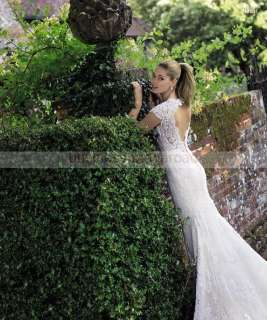 USD Postage*Custom made Amazing Beach Wedding/prom Dress/Gown All S