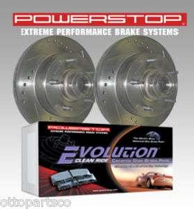 Powerstop Front Rotors & Brake Pads 05 07 Sierra/Silverado, 07 Yukon