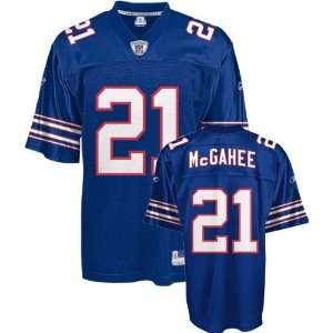 Willis McGahee Jersey Reebok Blue Replica #21 Buffalo Bills Jersey