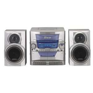Audiovox CE 448 Compact Stereo System Electronics
