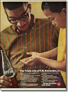 1969 Triple Life of T.M. Alexander Jr.   Coca Cola Ad