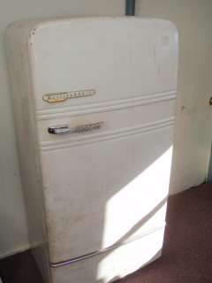 Antique Westinghouse Old Freeze Chest Ice Box Refrigerator with