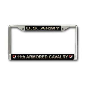 US Army 11th Armored Cavalry License Plate Frame
