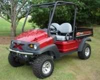 Bumper Brush Guard Club Car XRT 1550 Carryall 295 Bobcat 2200 HUV 4421