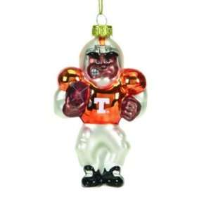 TENNESSEE VOLUNTEERS BLOWN GLASS CHRISTMAS ORNAMENT (3