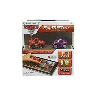 Disney Pixar Cars 2 AppMates Mobile Application Toys 2Pack