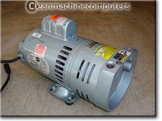 Gast 0823 Oilless Rotary Vane Vacuum Pump 1/2 HP 110 220 V