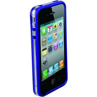 bandEDGE Polycarbonate and Rubber Edge Case, Clear/Purple: Cell Phones