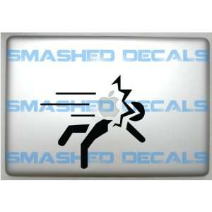 Inspired Safety Sign Macbook Apple Laptop Decal