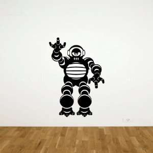 Robot Vinyl Wall Decal Sticker Graphic By LKS Trading Post