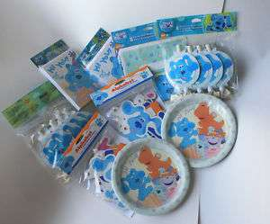 BLUES CLUES Birthday Party Supplies   Hard to Find Items ~ Select