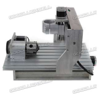 Axis DIY CNC 3025 Router Engraver Machine With Rotational Claw 3 Axis