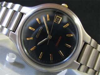 Japan 1997 SEIKO Quartz watch [7N42 8109] Titanium