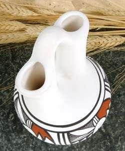 Acoma Style Wedding Vase (Native American)