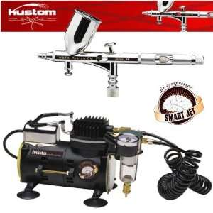 Iwata Kustom Custom Micron CM Airbrushing System with Smart Jet Air