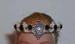 OOAK Fairy/Barbie Crown/Tiara Birthstone  U Pick Color