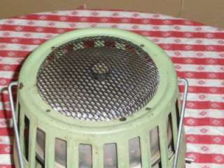 VINTAGE 1979 COLEMAN CATALYTIC CAMP/CAMPING HEATER   ADJUSTABLE 3000