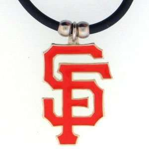 MLB Logo Necklace   San Francisco Giants  Sports