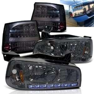 Eautolight 06 08 Dodge Charger LED Head Lights+led Tail Lights Brand