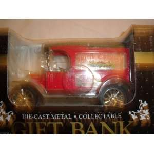 Ertl Merry Christmas Die cast Metal Gift Bank: Toys