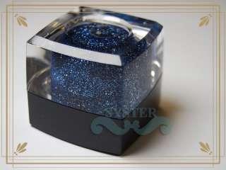 S65D 20ml Grey Blue Glitter Dust UV Gel Builder Gel Acrylic Nail Art